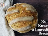 Instant Pot Homemade No-Knead Bread Without Dutch Oven / Bakery Style No-knead Whole Wheat Bread