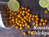 Instant Pot Indian Roasted Chickpeas / Roasted Chickpeas: Gluten-free, Soy-free, Nut-free, Vegan, Protein Rich Snacks Recipe
