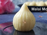 Instant Pot Malai Modak: Festival Food in India
