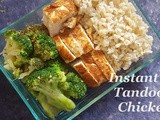 Instant Pot Tandoori Chicken Breast / Instant Pot Meal Prep