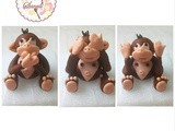 Learn to Create Delicate and Amazing Fondant Monkey: Edible Cake Topper