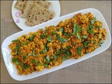 Protein-rich Paneer Bhurji (Cottage Cheese Scramble)