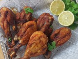 Roasted Garlic-Chicken Drumstick