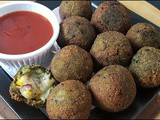 Spinach Cheese Balls Recipe | Palak Cheese Balls Recipe