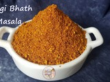 Vangi Bhath Masala Powder: Indian Food and Spices
