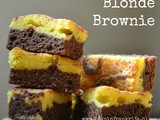 Blonde brownie