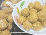 Almonds - Corn flakes Laddu