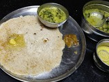 Boiled Rice & Rava Rotti