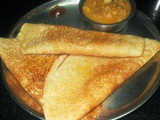Bread - Red Rice Dosa