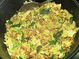 Cabbage & Moth bean Dry Curry