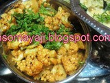Cauliflower Dry Curry
