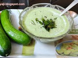 Cucumber - Green chilly Sasive