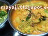 Drumstick - Potato Curry / Sambar