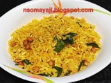 Easy Mandakki / Puffed Rice Oggarane