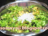 Field Beans - Malabar Spinach Dry Curry