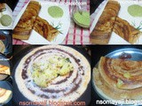 Foxtail Millet & Mixed dal Dosas