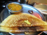 Foxtail Millet - Urid Dosa
