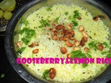 Goose berry - Lemon Rice