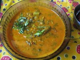 Kempu Harive Gasi / Amaranth Leaves Curry