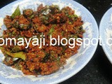 Kesu Suruli Palya. (Colocasia Leaf Spicy Curry)