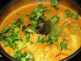 Knol Khol & Cluster Beans Curry