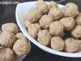 Oats - Raagi - Almonds and Dates Laddu