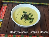 Pumpkin Mosaru Bajji./ Pumpkin Curd Curry