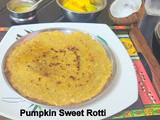 Pumpkin Sweet Rotti