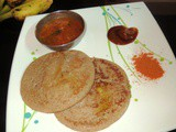 Red Rice -Methi/Fenugreek Seeds Dosa