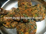 Shallow Fried Colocasia Fritters