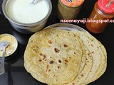 Soft Potato Spicy Chapatis