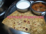 Vitamin Leaves Tambuli Chapati/ Paratha