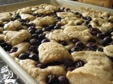 Blueberry cobbler bars: a recipe