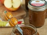 Bourbon apple pumpkin butter