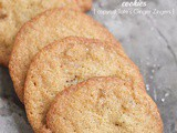 Candied ginger cookies {copycat Tate's Ginger Zingers}