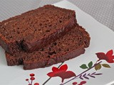 Chocolate-strawberry quick bread