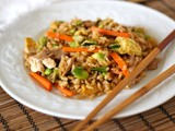 Easy fried rice: a recipe