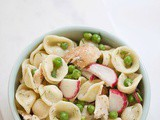 Fast and fresh ranch pasta salad