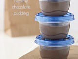 Five minute healthy chocolate pudding