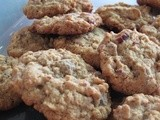 Loaded oatmeal cookies: a recipe