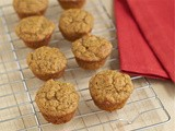 Maple pumpkin mini muffins