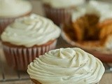Pumpkin ginger cupcakes (gluten-free or not) -- and a giveaway