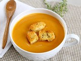 Sweet potato bisque (Secret Recipe Club)
