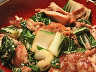 Vietnamese slow cooker chicken with bok choy: a recipe