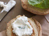 White bean burgers (Secret Recipe Club)