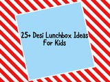 25+  Desi Lunch box Ideas for kids and teens