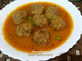 Beef Kofta curry