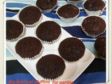 Big Batch Chocolate Muffins for Parties