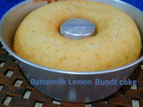 Buttermilk Lemon Bundt Cake