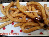 Eggless Churros